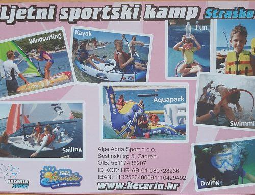 Ljetni sportski kamp Straško (Pag)